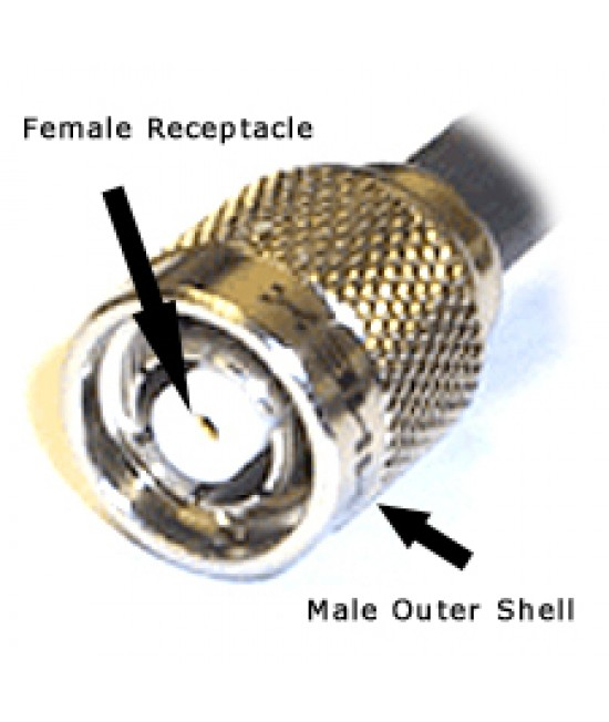 LMR200 RPSMA male Connector