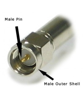 LMR200 SMA male Connector